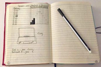 Mijn spaarplan voor een nieuwe Macbook en hoe ver ben ik?