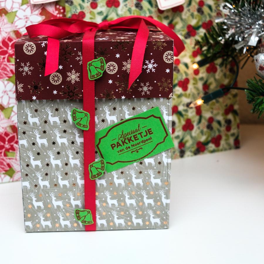 Kerst cadeauverpakkingen maken met Stampin Up