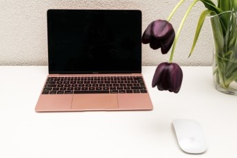Macbook in roségoud