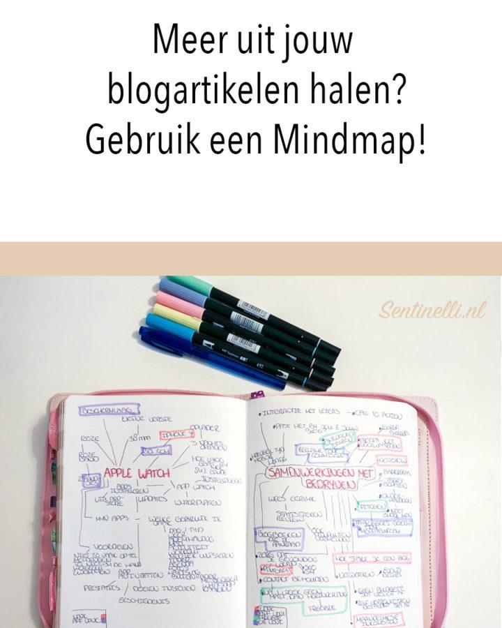 Meer uit jouw blogartikelen halen? Gebruik een Mindmap!