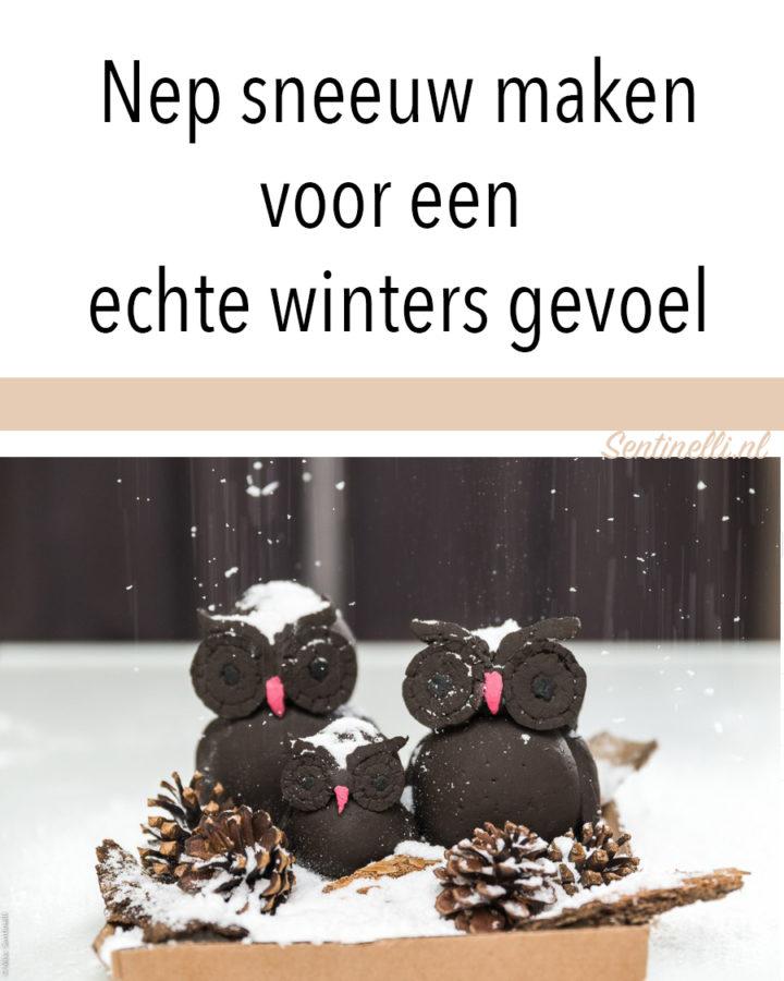 Nep sneeuw maken voor een echte winters gevoel