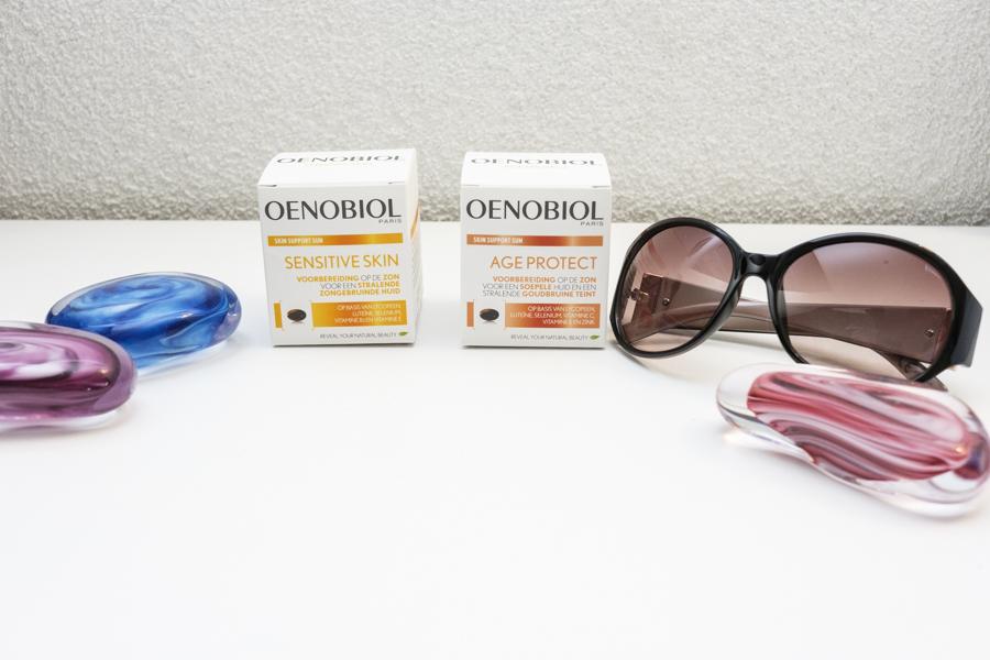 Oenobiol Skin Support Sun - Sensitive Skin en Age Protect - Voorbereiding op de zon - Voorbereiding op de zon