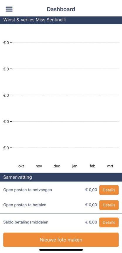 Online boekhouden en factureren met e-Boekhouden.nl - app overzicht
