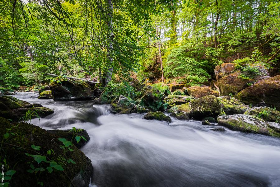 De watervallen van Irrel (De Irreler wasserfälle)