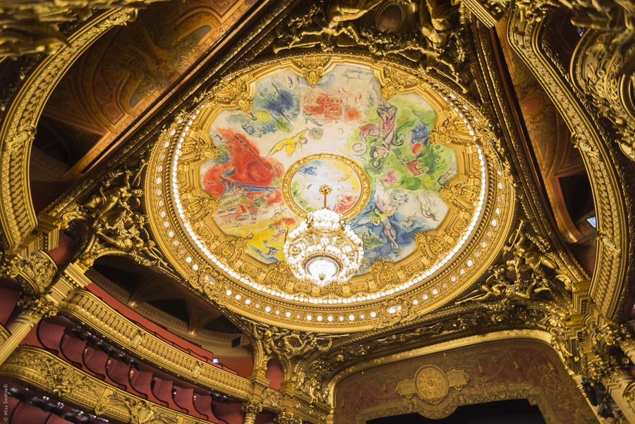 Opéra Garnier in Parijs