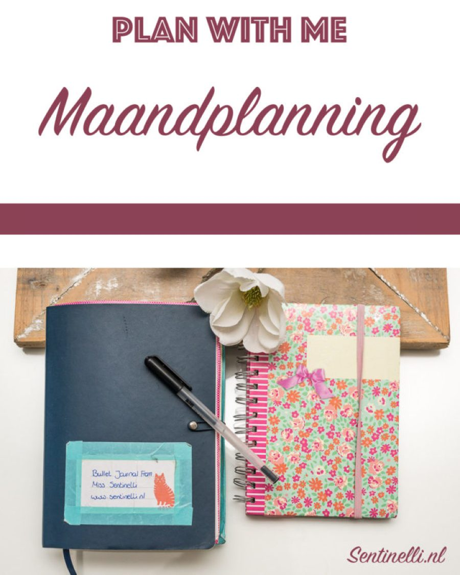 Plan with me – Maandplanning van Oktober