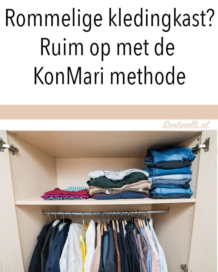 Rommelige kledingkast? Ruim op met de KonMari methode