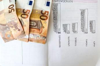 Sparen update juni - Hoeveel hebben we deze maand kunnen sparen?