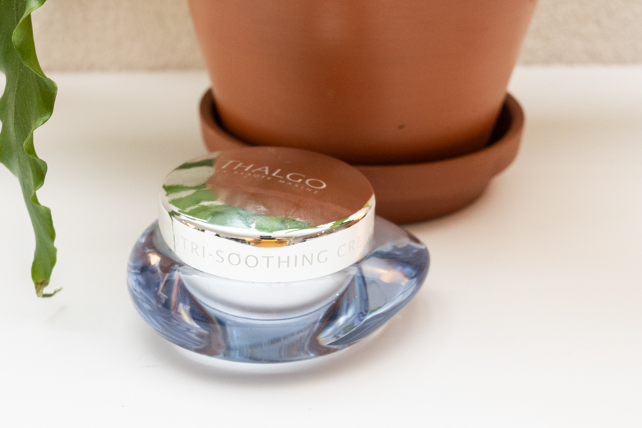 Thalgo beautifying tonic lotion en Nutri-soothing cream