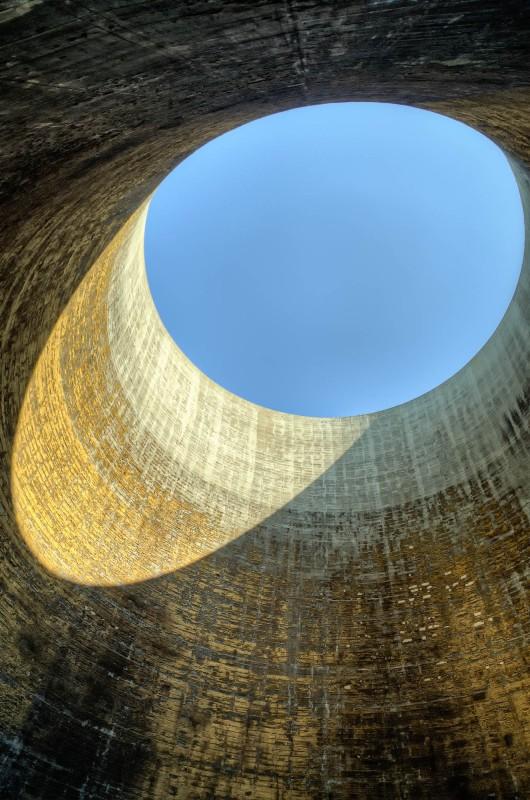 Inside the golden tower