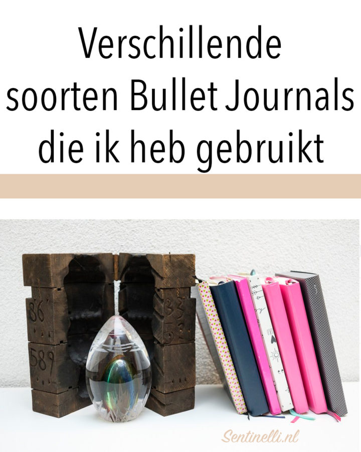 Verschillende soorten Bullet Journals die ik heb gebruikt