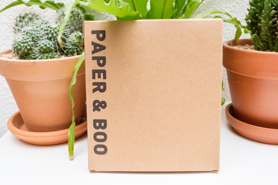 Wasbare wattenschijfjes + waszakje van PAPER & BOO - Informatie