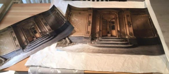 Foto's winactie verlaten panden posters