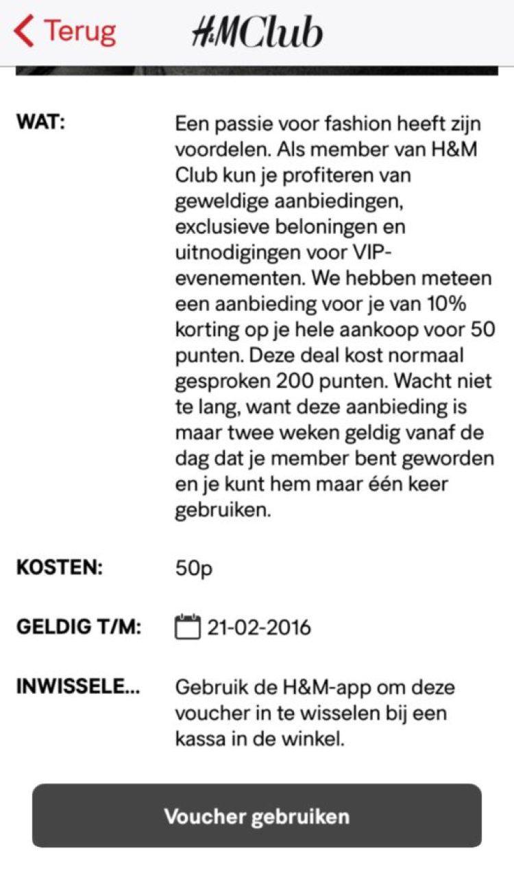 H&M Club
