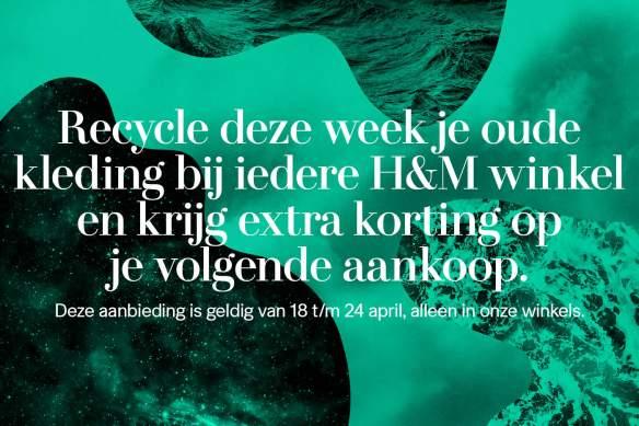 World Recycle Week: Lever kleding in bij de H&M