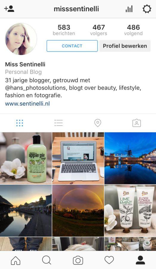 Instagram bedrijfsprofiel