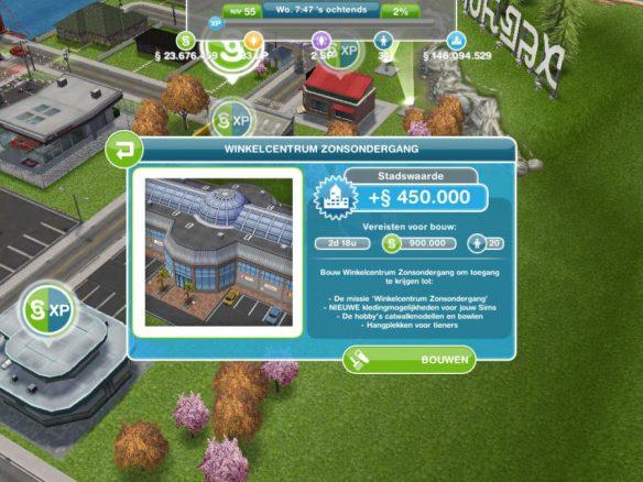 Missie walkthrough: Winkelcentrum Zonsondergang