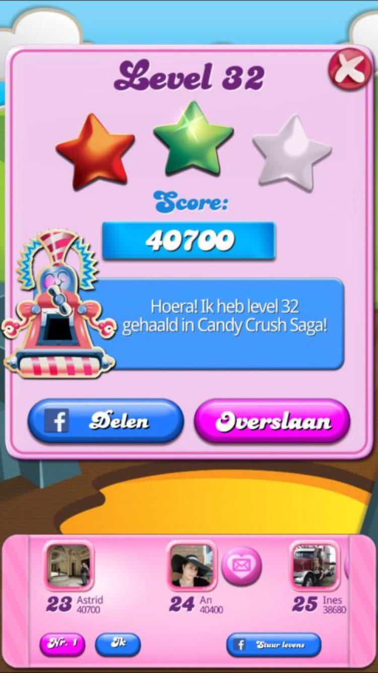 Ojee, ook ik ben verslaafd aan Candy Crush