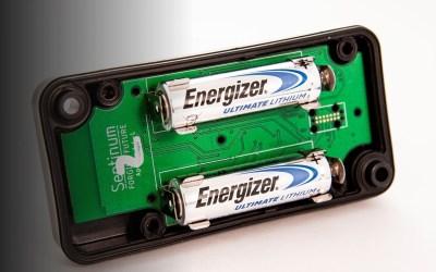 Füllstandsensor Apollon-Q kommt mit auswechselbarer Batterie.