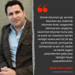 Yazarlarımızdan Alıntılar | Mustafa Çağa