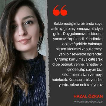 Yazarlarımızdan Alıntılar | Hazal Özkan