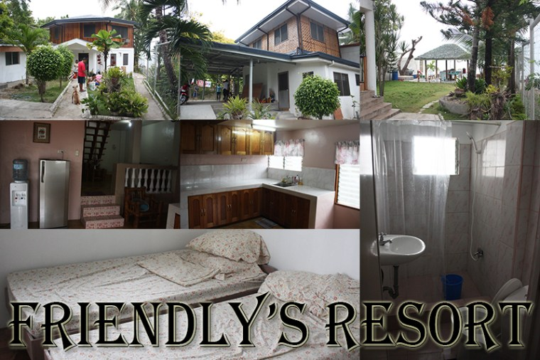 friendly's resort, tan-awan, oslob