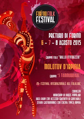 Locandina Forino Folk Festival