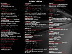 Cartellone stagione 2015-16 Teatro Elettra