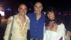 Con il regista Daniele Falleri e la stilista sabrina Attiani