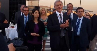 Raggi, Piccinetti, De Vito. Inaugurazione ESC Fiera d Roma @SenzaBarcode