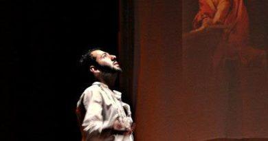 Al Teatro Palazzo Santa Chiara il 28 e 29 dicembre, Manfredi Gelmetti presenta Caravaggio: La Passione.