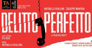 Al Teatro dell'Angelo il Delitto perfetto di Frederick Knott