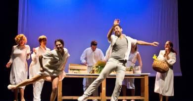 """Al Teatro Lo Spazio il debutto dal 18 al 23 aprile 2017 di """"sotto un cielo azzurro"""", scritto e diretto da Mariella Pizziconi. Il dramma del bombardamento di San Lorenzo nelle intense storie dei superstiti."""