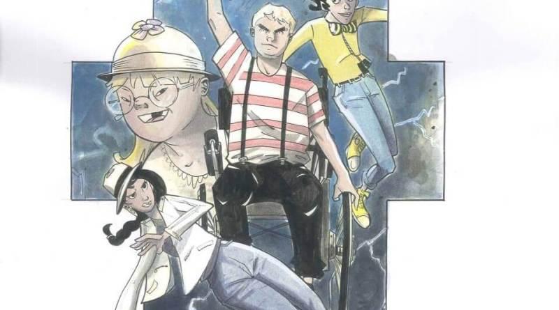 Four Energy Heroes: il fumetto dei supereroi disabili e normodotati che disintegra le barriere.Pubblicazione firmata L'Arte nel Cuore e Bardi Edizioni