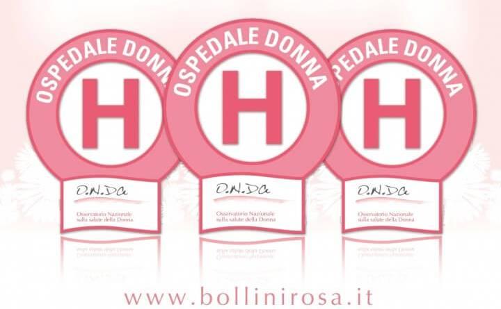 """IFO si confermanoospedali a misura di donna con 3 bollini rosa.Branka Vujovic: """"La donna è per noi oggetto di attenzione oltre che un'alleata preziosissima."""""""