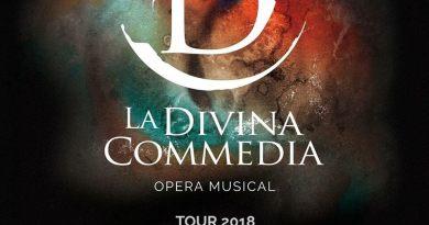 L'Opera MusicalLa Divina Commediaal Teatro Brancaccio di Romacome non l'avete mai vista.L'Inferno, il Purgatorio ed il Paradisoin due ore di imperdibile spettacolo.Dal 19 gennaio.