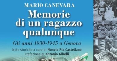 Mario Canevara ci riporta alla vita vissuta da un ragazzo tra il 1930 ed il 1945 sotto la dittatura fascista. Un bambino che a 6 anni già fa i conti con la realtà trovando nella spazzatura un mucchio di schede elettorali.