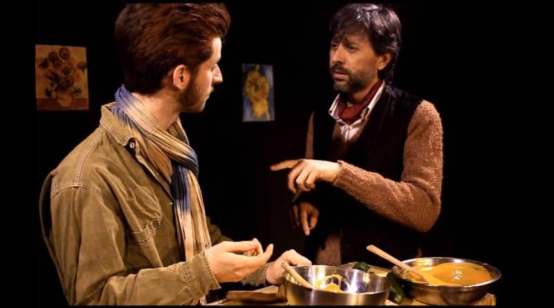 Al Teatro lo Spazio il debutto nazionale del testo premio Fersen alla drammaturgia 2015 Goghgauguin, scritto e diretto da Biancanives Togliani con Adelmo Togliani, Guido Targetti e Adele Tirante.