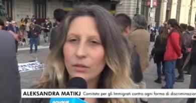 """Udienza conclusiva per Benedetto Vallone. CAso politico nato su Facebook. Dicharazione diAleksandra Matikj, Presidentessa del """" Comitato per gli Immigrati e contro ogni forma di discriminazione""""."""