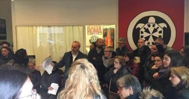 Casapound aderisce alla manifestazione di solidarietà per Loredana insieme ai cittadini di Ottavia e alle famiglie di via Annie Vivanti.