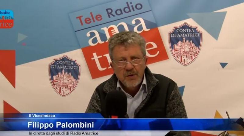 Dopo la decadenza di Sergio Pirozzi dalla carica di Sindaco è Filippo Palombini il Sindaco facente funzioni di Amatrice.