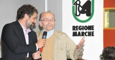 Presentato in Regione il documentario sulla vita del pluricampione mondiale di atletica Giuseppe Ottaviani, ultracentenario, testimone della longevità delle Marche.