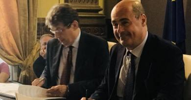 Regione Lazio, inps e Ifo presentano il protocollosperimentale d'intesa perla tutela della disabilità da patologie oncologiche. L'intesa permetterà l'attivazione tempestiva della pratica di invalidità.