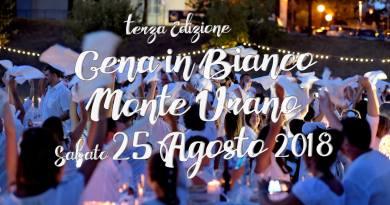 L'associazione L'Alveare Onlus di Monte Urano ha a perto le iscrizioni per la Cena in Bianco, che si terrà sabato 25 agosto in una location segreta.