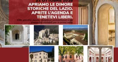 Giornata delle Dimore storiche del Lazio