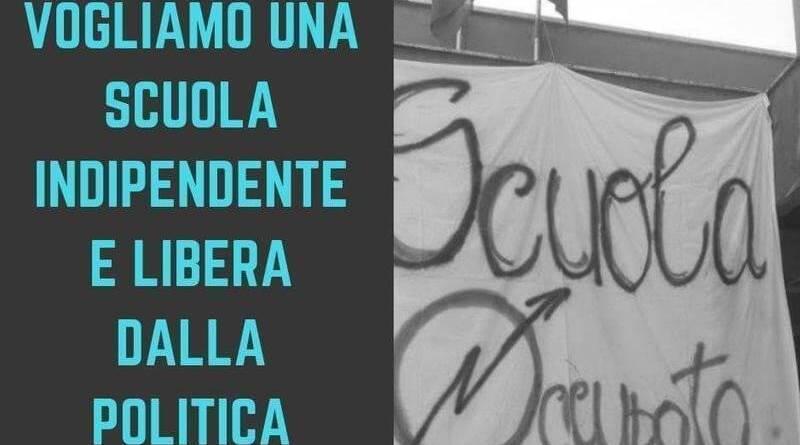 """Scuola, Fabrizio Santori (dirigente regionale Lega-Salvini Premier) """"petizione online per difendere studenti da ingerenze politiche di docenti e dirigenti""""."""