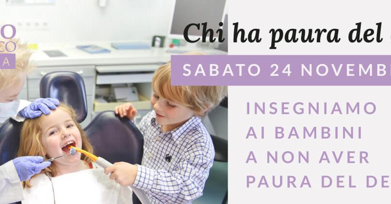 Attraverso il gioco e il teatro, la compagnia Armito Teatro insegna ai bambini a non aver paura del dentista.