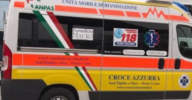 Oggi, martedì 20 novembre, a Monterubbiano un anziano è stato rinvenuto senza vita, riverso sulle scale della sua abitazione, al centro del paese.