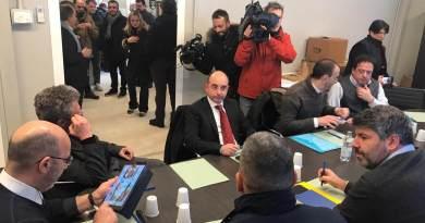 """Amatrice, ultimata la riunione dei Sindaci con il sottosegretario Crimi e il commissario Farabollini. """"data ampia rassicurazione sia dal Commissario..."""""""