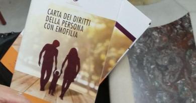 Alessio D'Amato, assessore alla Sanità e Integrazione Sociosanitaria Regione Lazio, Carta dei Diritti della Persona con Emofilia.
